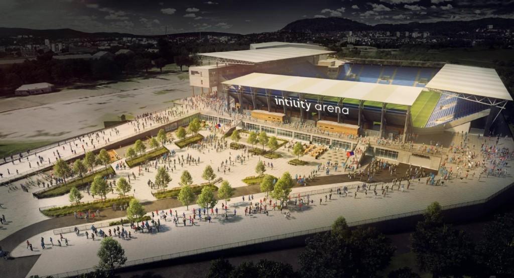 NYTT NAVN: Mandag ble det klart at Vålerengas nye storstue skal hete Intility Arena.