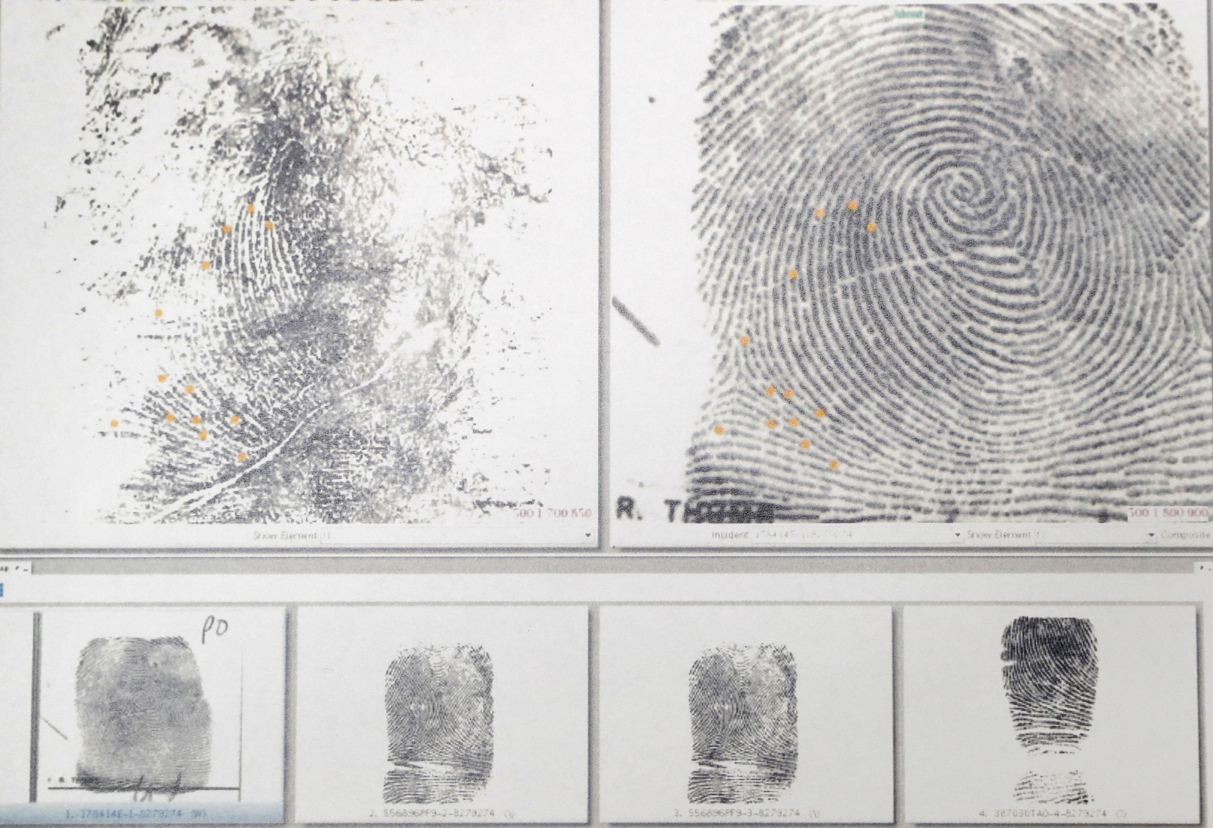 FINGERAVTRYKK: Hvert fingeravtrykk er unikt, men det inneholder også informasjon om personen som avsatte det.