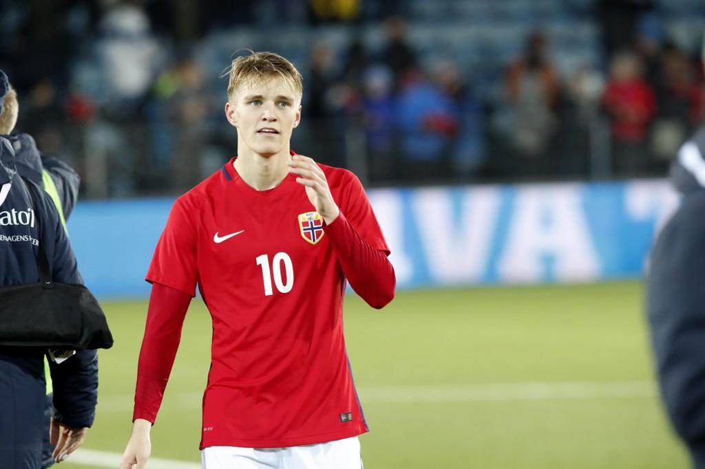 I STORFORM: Martin Ødegaard har storspilt for Heerenveen i høst og viste også strålende takter i U21-landskampen mot Tyskland.