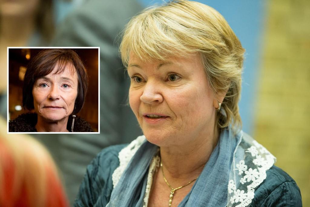 FORSVARER ISLAMKRITIKERE: Frps integreringspolitiske talskvinne Kari Kjønaas Kjos rykker ut til forsvar for Human Rights Service (HRS) og Hege Storhaug.