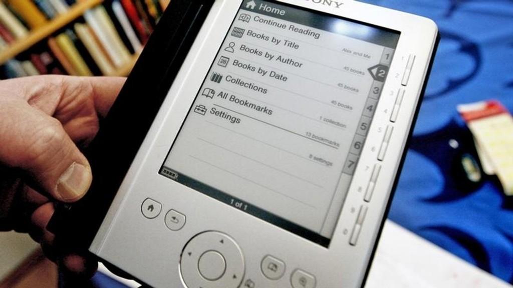 E-BOK: Momsen på ebøker beholdes.