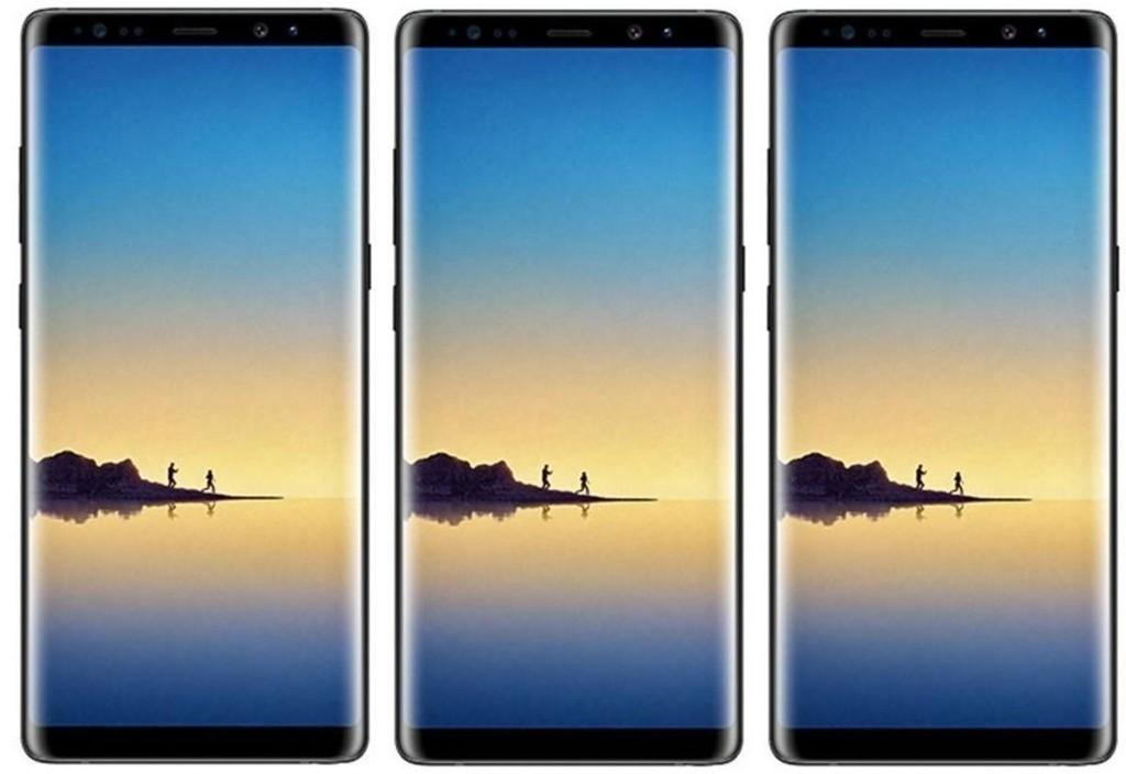 Nye Galaxy Note 8 hadde verdenspremiere i New York 23.08.17.