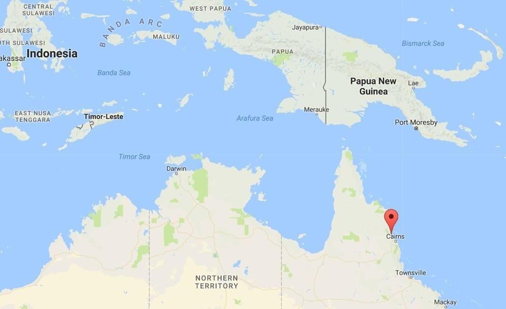 Port Douglas like nord for Cairns.
