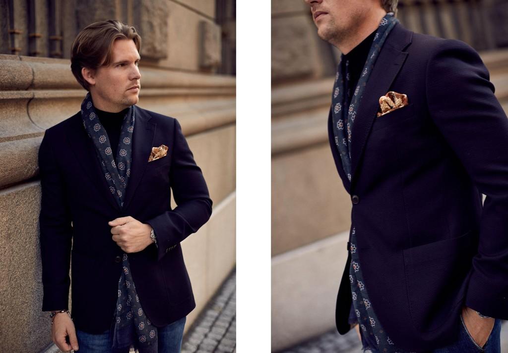 339a49fb Når du kombinerer blazer, turtle neck og jeans mikser du det klassiske med  en mer sporty stil.