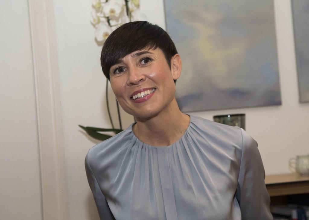 Ine Marie Eriksen Søreide er Norges første kvinnelige utenriksminister.