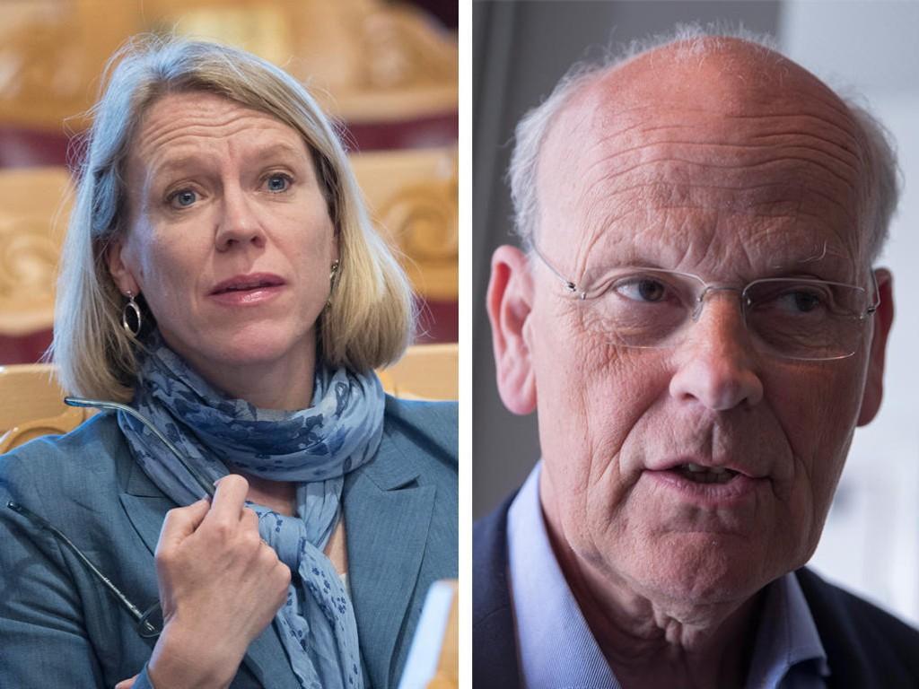 Stortingets forsvarstopper Michael Tetzschner (H) og Anniken Huitfeldt (Ap) har havnet i ordkrig.