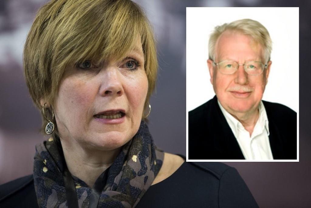Tidligere leder av SSBs forskningsavdeling, Olav Bjerkholt (innfeldt), slakter omorganiseringen som nå skjer i regi av SSB-sjef Christine Meyer.