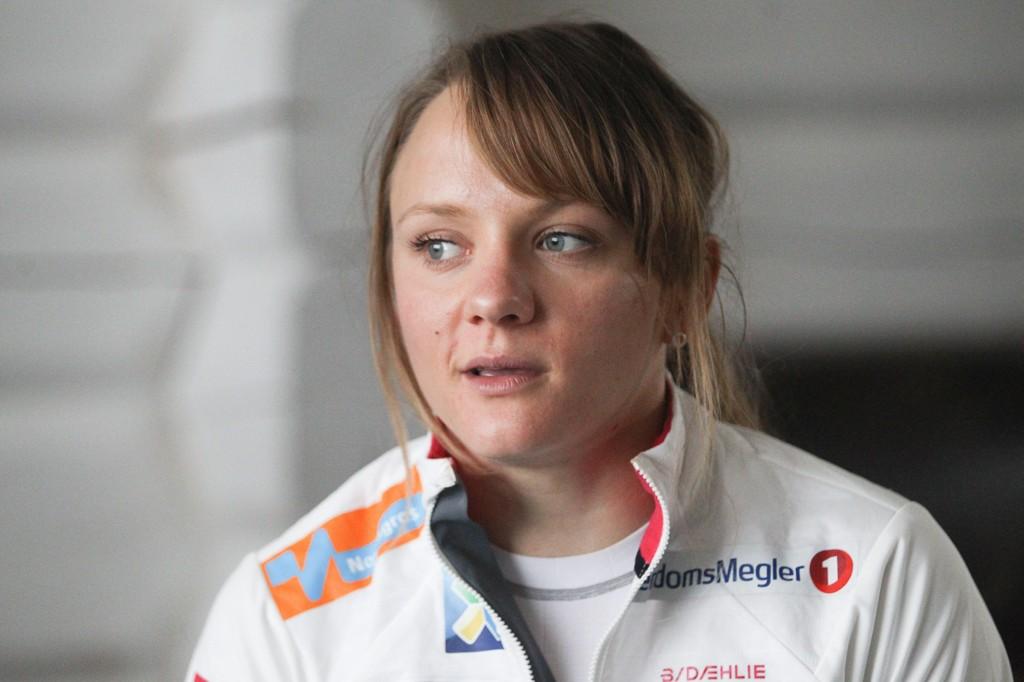 MOTTAR MELDINGER: Sinte svensker har gitt Maiken Caspersen Falla klar beskjed om hva de mener om henne.