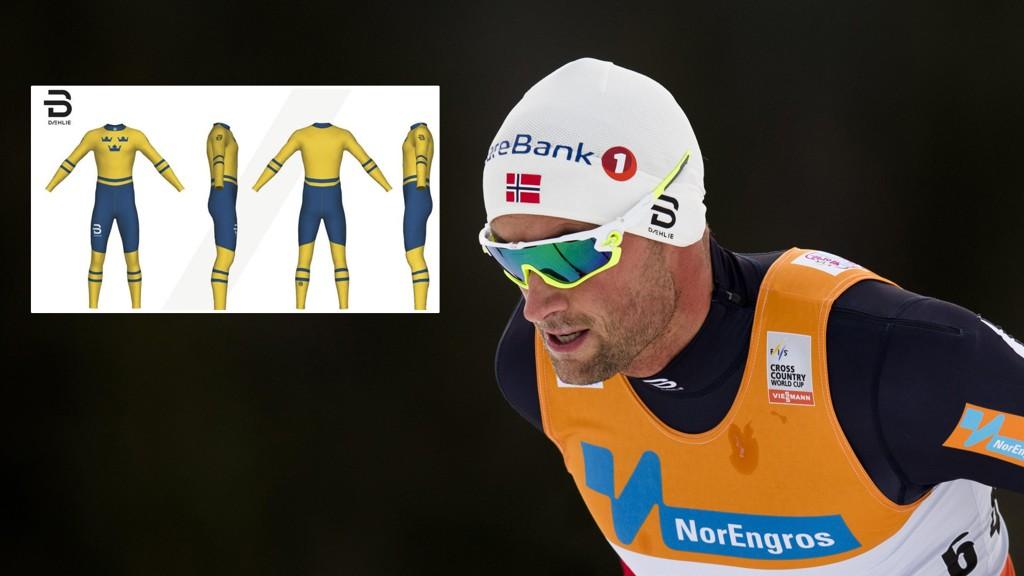SESONGSTART: Petter Northug skal stille i en helt spesiell drakt når han starter sesongen i Sverige.