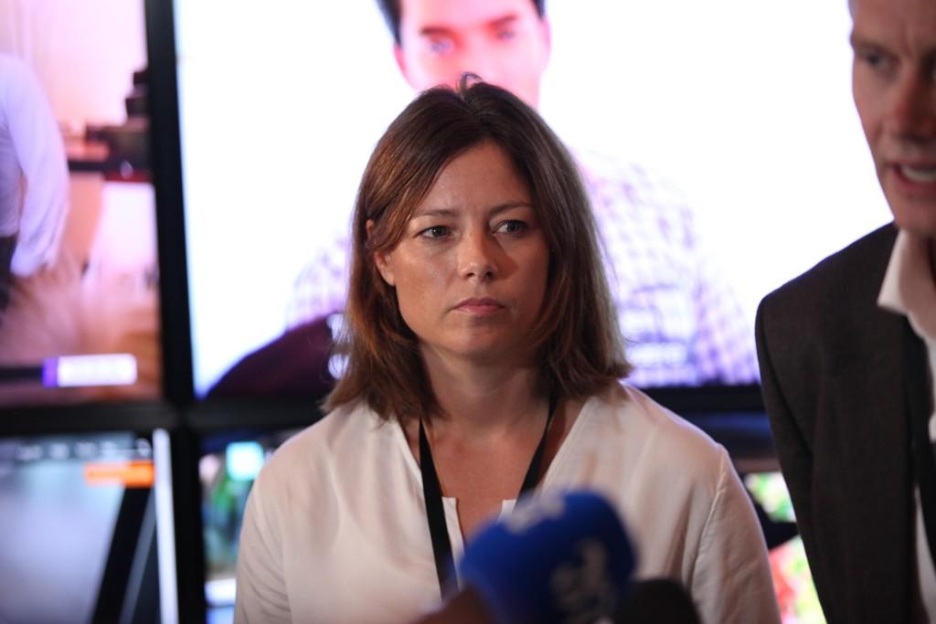 KJENNER SEG IGJEN: Organisasjons- og kommunikasjonsdirektør i TV 2, Sarah Willand, bekrefter at selskapet kjenner seg igjen i flere av eksemplene på seksuell trakassering som Aleksander Schau trekker frem.