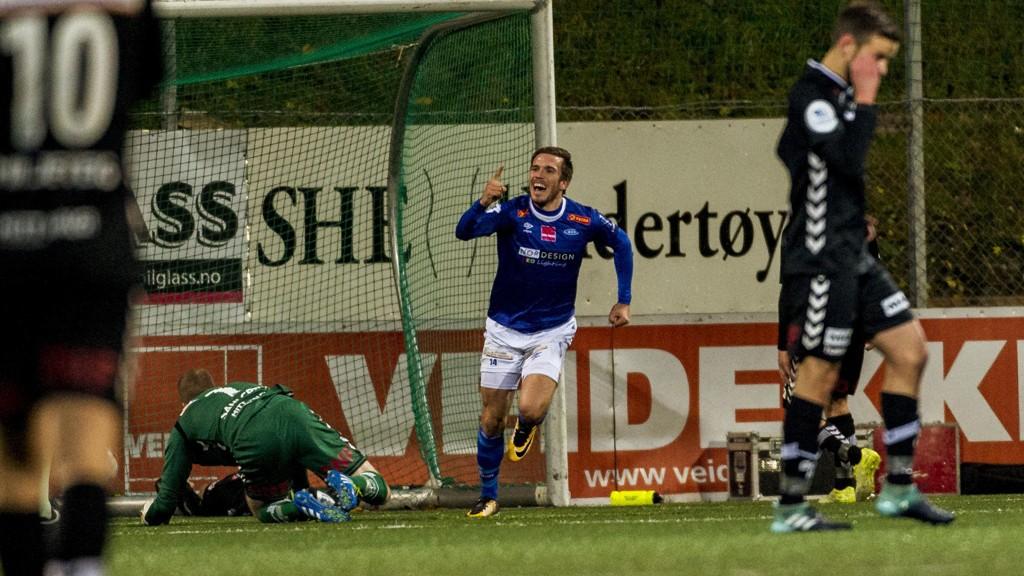 HELTEN: Mats Lillebo ble den store helten for Ranheim.