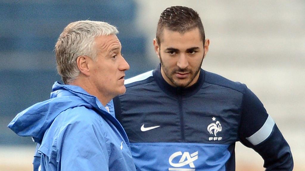 ISFRONT: Det er ingen god stemning mellom Didier Deschamps og Karim Benzema.