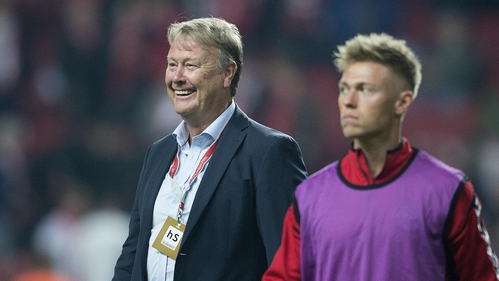 Åge Hareide er optimistisk før Danmarks returoppgjør mot Irland i jakten på VM-spill.
