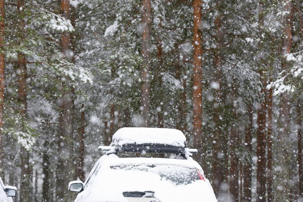 Store deler av Østlandet kan vente seg et snøfall tirsdag morgen.