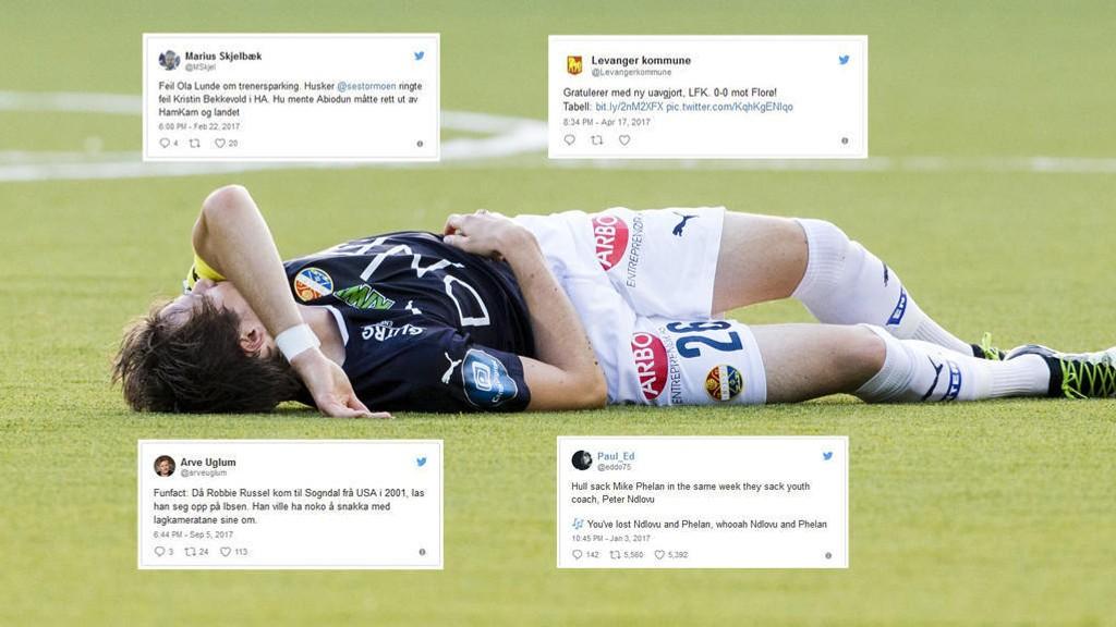 MYE MORSOMT: Idrettsåret 2017 har levert - også på Twitter.