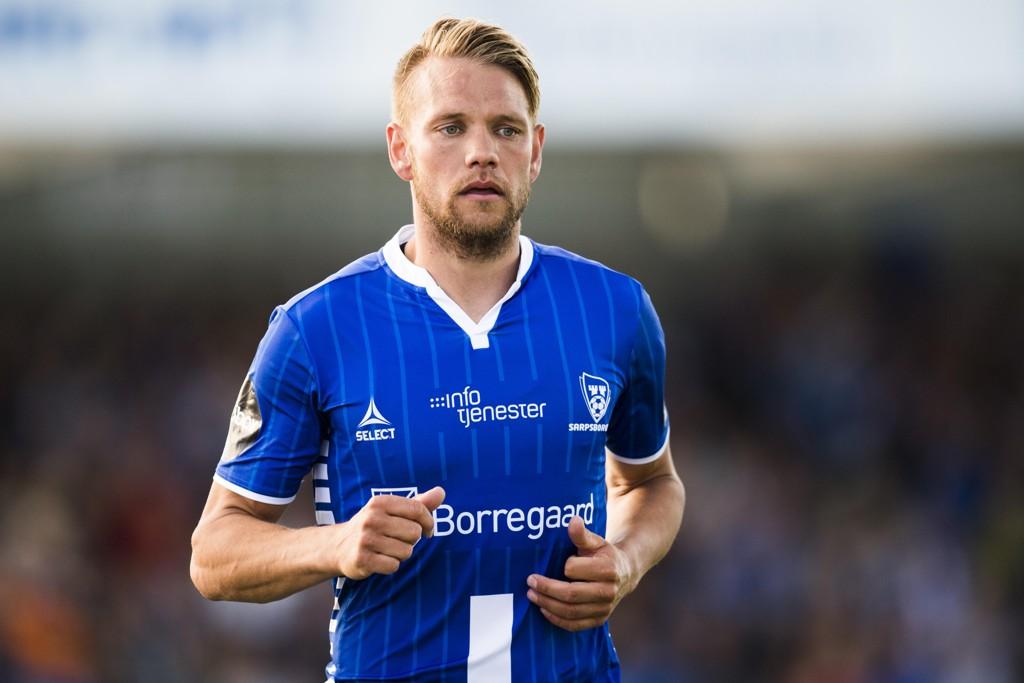NY KONTRAKT: Ole Jørgen Halvorsen forlenger sin kontrakt med Sarpsborg 08.