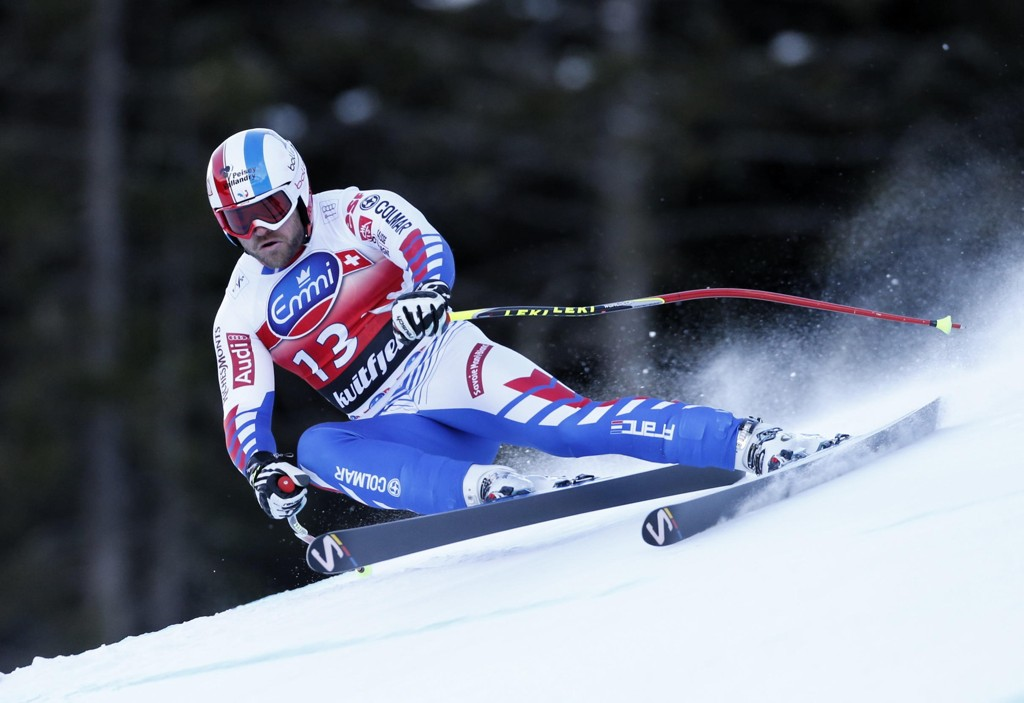 DØDE: Den franske alpinisten David Poisson døde mandag i en treningsulykke i Canada.