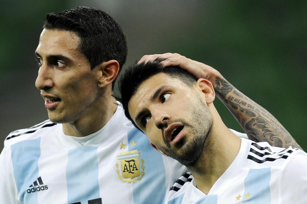 SKAL HA KOLLAPSET: Argentinas Sergio Agüero.