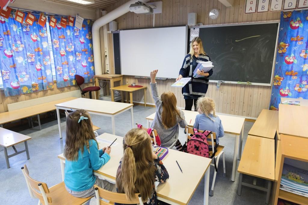 SKOLESTART: Totalt 44 barn i Oslo møtte ikke opp til skolestart. 37 av barna var førsteklassinger.
