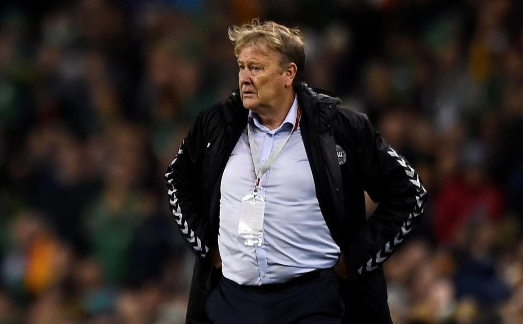 KLAR BESKJED: Åge Hareide ga klar beskjed til en irsk journalist etter seieren mot Irland.