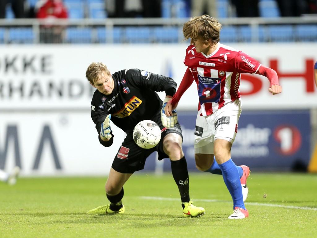 FERDIG: Eirik Holmen Johansen er ferdig i New York City FC. Her fra tiden i Sandefjord.