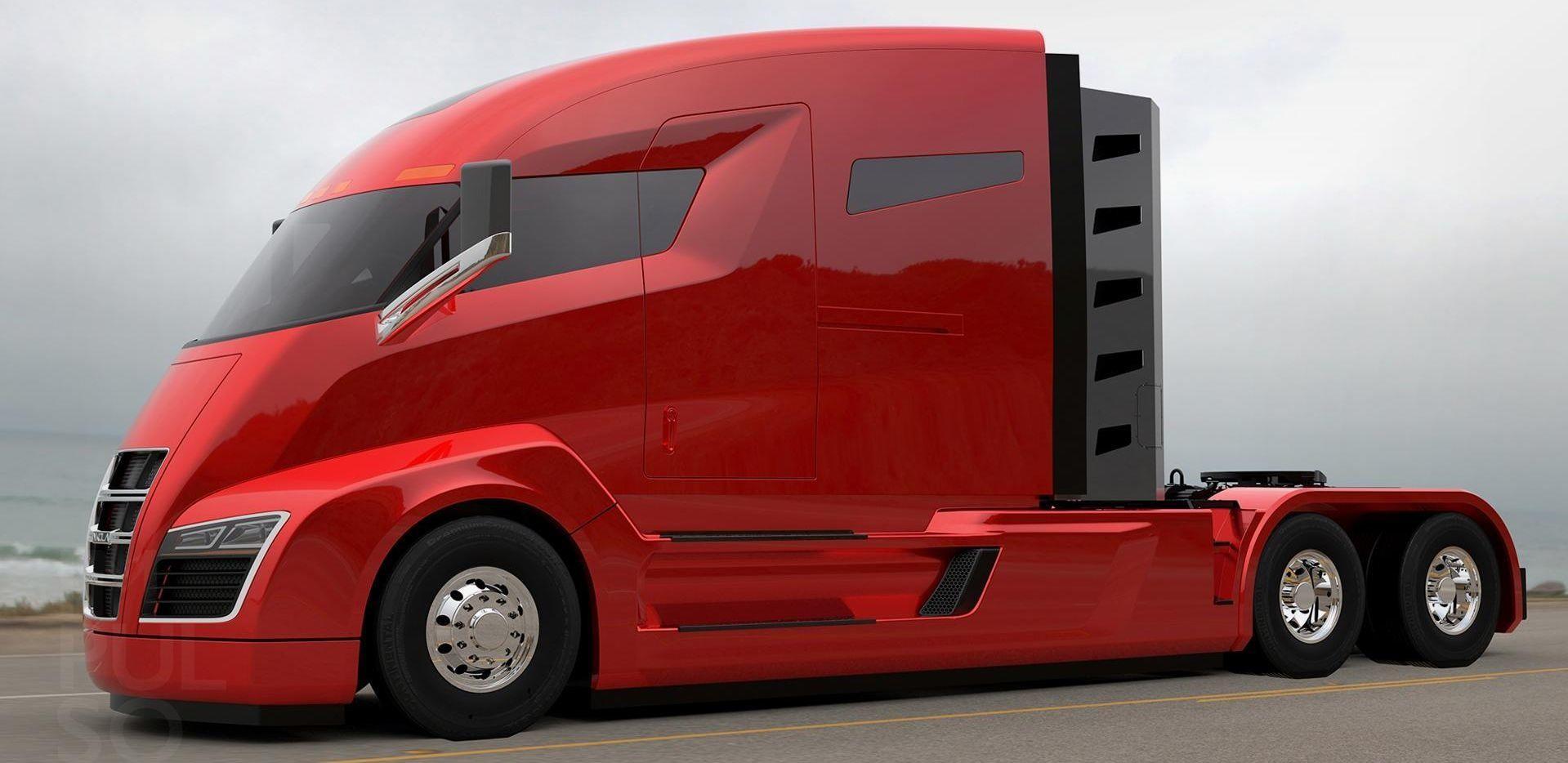 Interessen for den nye lastebilen Nikola One er enorm. Det kan være lastebilen som er starten på slutten for diesel- og bensindreven langtransport.