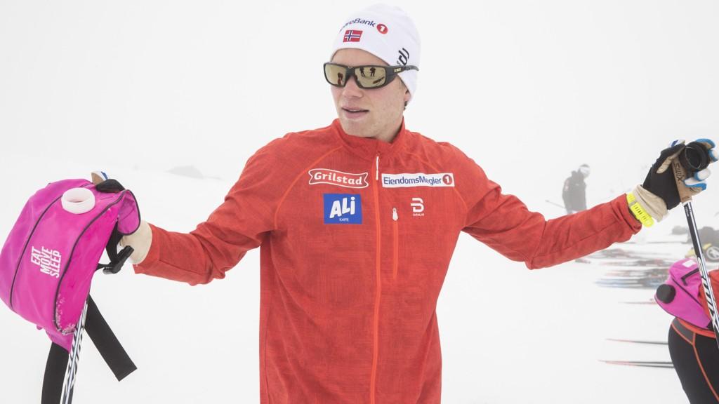 KLAR FOR SPRINT: Eirik Brandsdal er klar for en ny sesong.