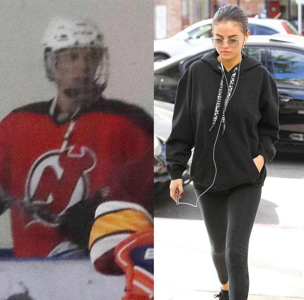 Nå er det vel ganske sikkert at Justin Bieber og Selena Gomez er en ting igjen? Nylig ble de to stjerneartistene sett sammen mens de kysset på hockeykamp.