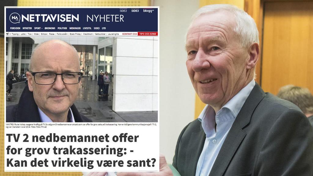 KRITISK: Tidligere TV 2 sjef Alf Hildrum, er kritisk til kritikken fra tidligere TV 2 topp Rune Indrøy. Indrøy har blant annet gått ut mot TV 2 gjennom Nettavisen.