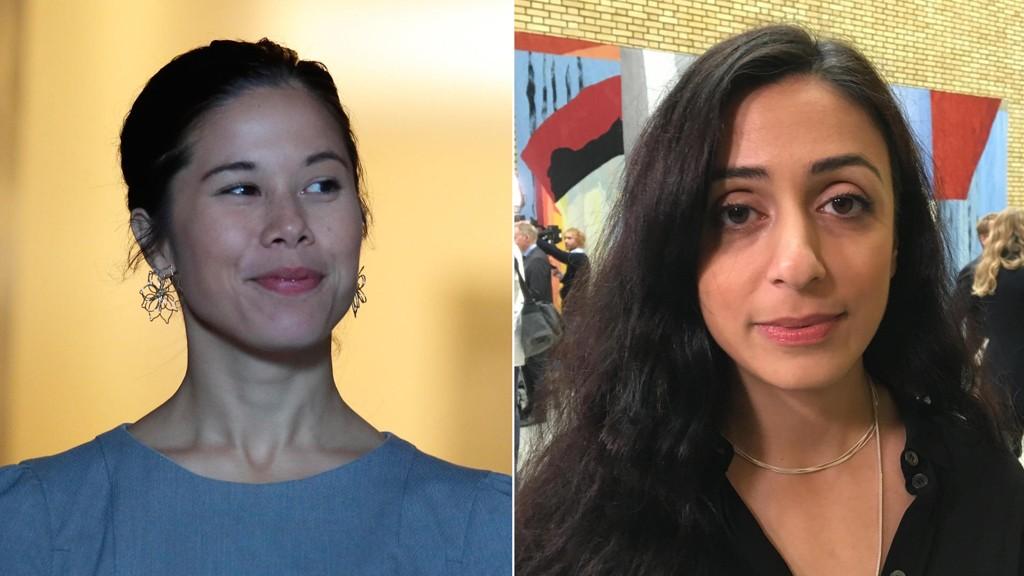 FORBANNET: Ap-nestleder Hadia Tajik blir forbannet av truslene mot Oslo-byråden Lan Marie Nguyen Berg (MDG). - Hun betaler en ganske høy pris, sier Tajik.