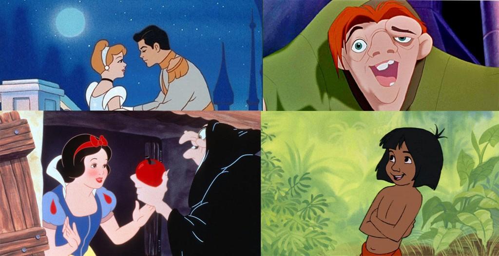 Askepott, Ringeren i Notre Dame, Snehvit og Jungelboken. Alle disse karakterene fra de kjente og kjære Disney-filmene har en mørkere bakhistorie enn vi kan tenke oss.