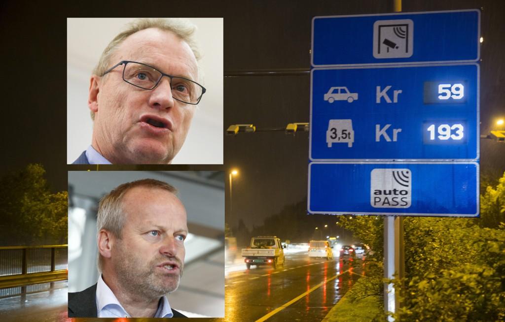 BOMPENGER: Raymond Johansen er sterkt kritisk til Ivar Sodnes (Sp) sine utspill om Oslo-trafikken, og minner om at han selv har stemt for bomringen i Stortinget.