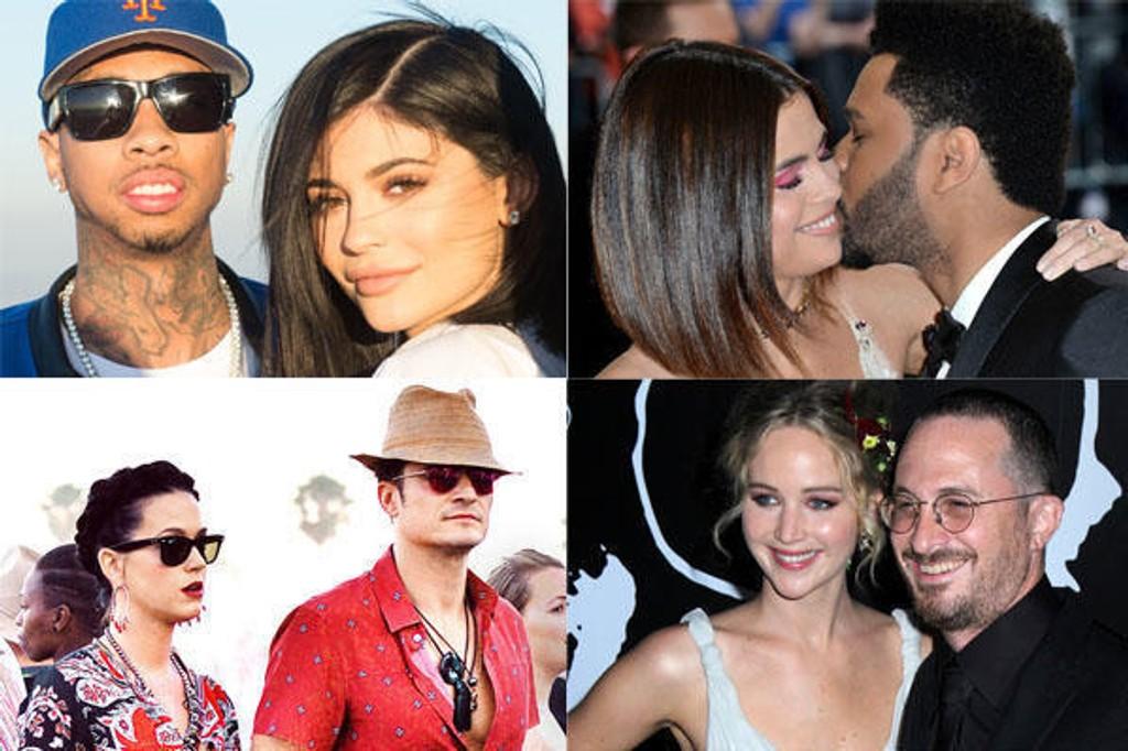 Disse kjendisene ble single i 2017.