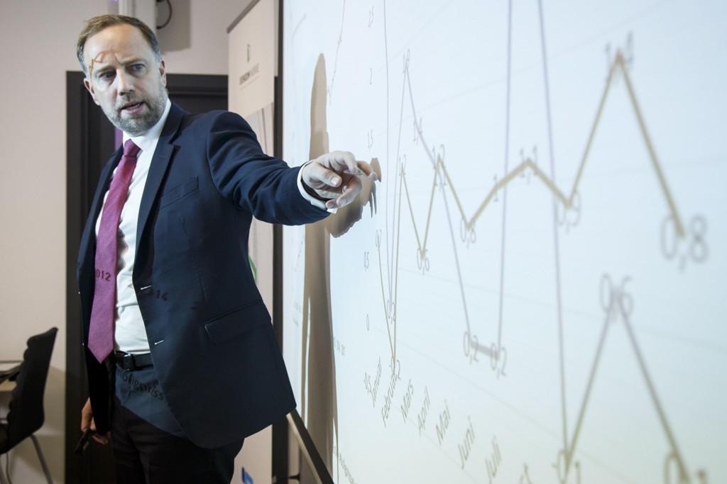 BOLIGPRISENE FALLER: I de tre største byene er prisene nå på vei nedover, og det vil fortsette, tror Christian Vammervold Dreyer, administrerende direktør i Eiendom Norge.