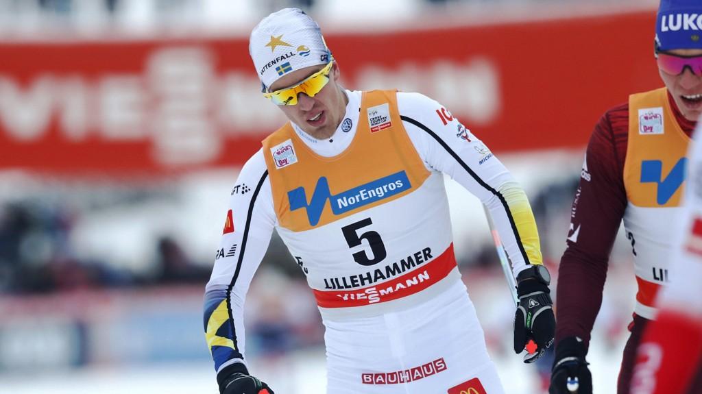 STÅR OVER: Calle Halfvarsson er syk og står over Davos.