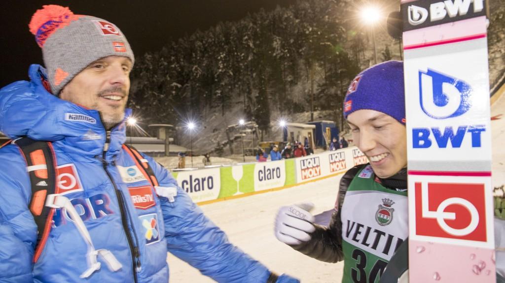 NY SJANSE: Alexander Stöckl er fornøyd med utøverne sine så langt i vinter.
