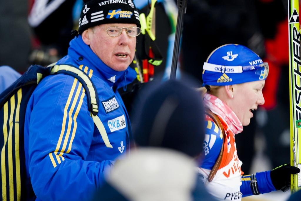 KONSEKVENSER: Det er usikkert om IOCs utestengelse av Russland også kan få konsekvenser for Sveriges landslagssjef Wolfgang Pichler. Tyskeren var trener for det russiske skiskytterlandslaget under Sotsji-OL.