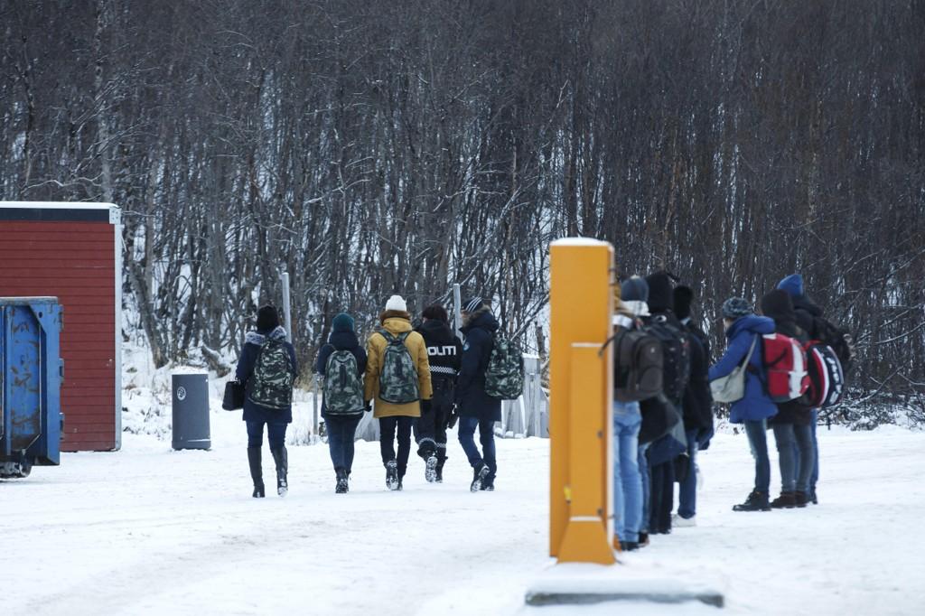 VILLE TIL NORGE: I løpet av noen hektiske uker i 2015, krysset 5.500 asylsøkere grensa til Norge over Storskog.