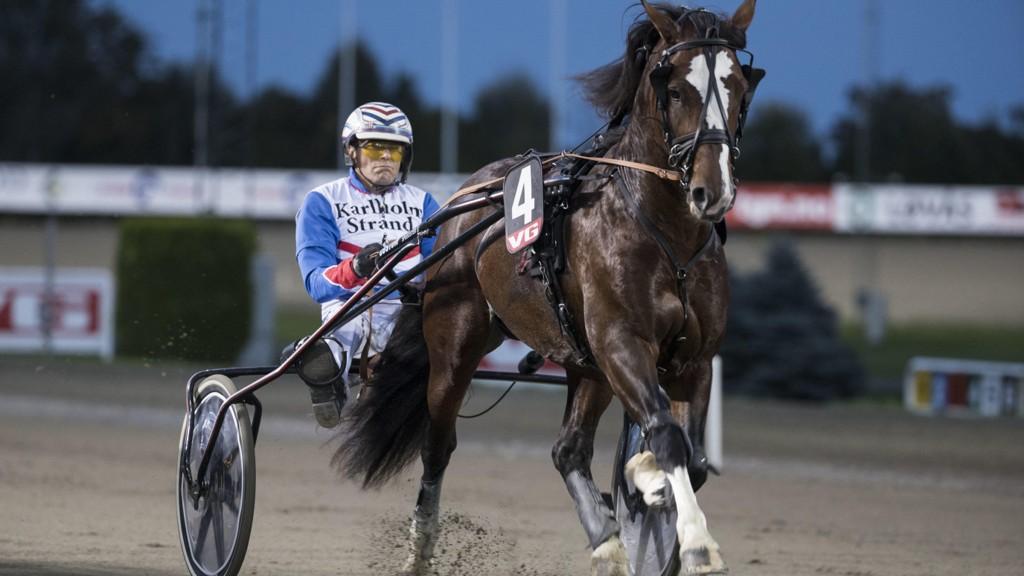 Ove A Lindqvist er aktuell i dagens V4-omgang fra Boden. foto_Roger Svalsrød_hesteguiden.com