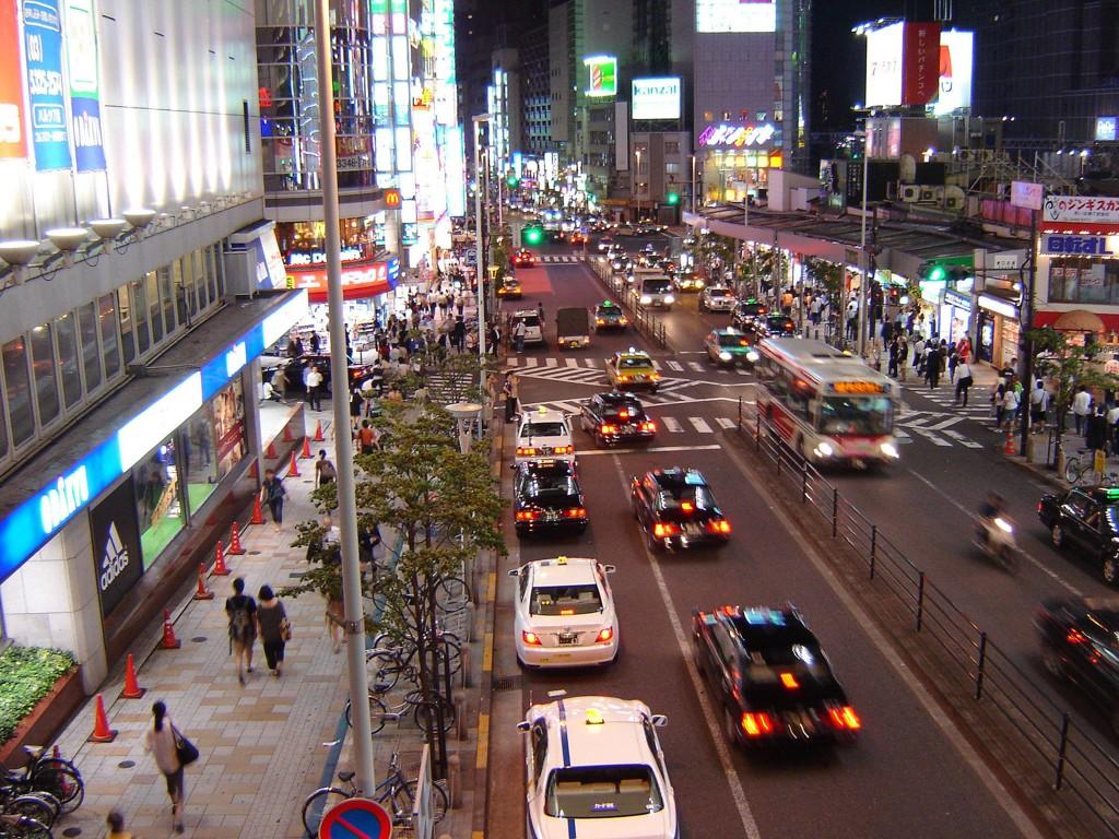 KJØPER I TOKYO: Oljefondet kjøper flere eiendommer i storbyen Tokyo.