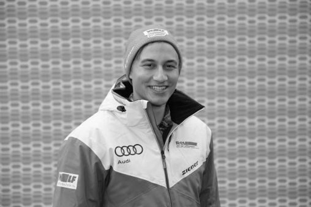 DØDE TORSDAG: Alpinttalentet Max Burkhart.