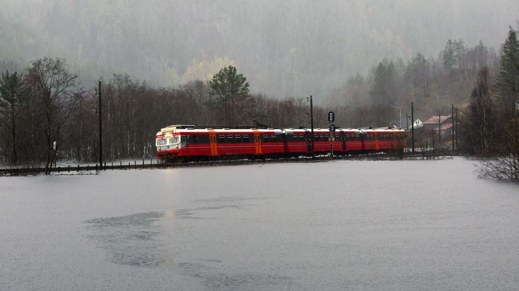 STENGT: Bergensbanen.