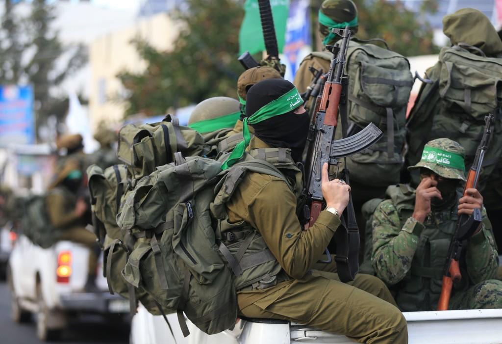 HAMAS:Israelske kampfly har angrepet Hamas-stillinger på Gazastripen.
