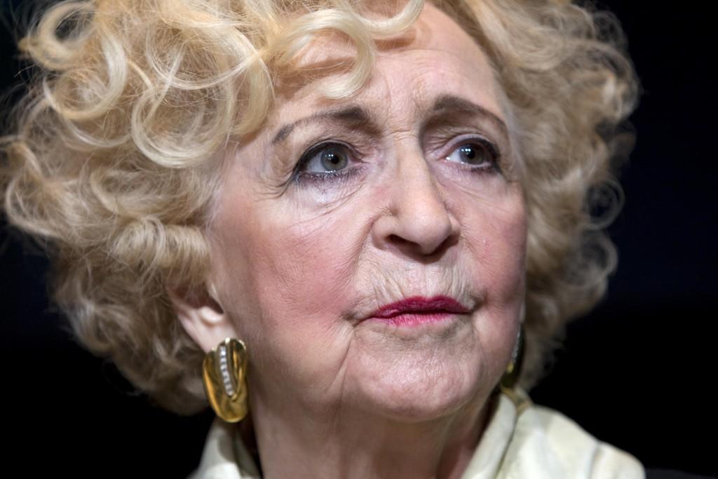 TRAKASSERING: Wenche Foss fortalte om flere tilfeller av seksuell trakassering som skjedde mens hun jobbet som skuespiller, ifølge hennes sønn Fabian Stang. Bildet er tatt i 2009.