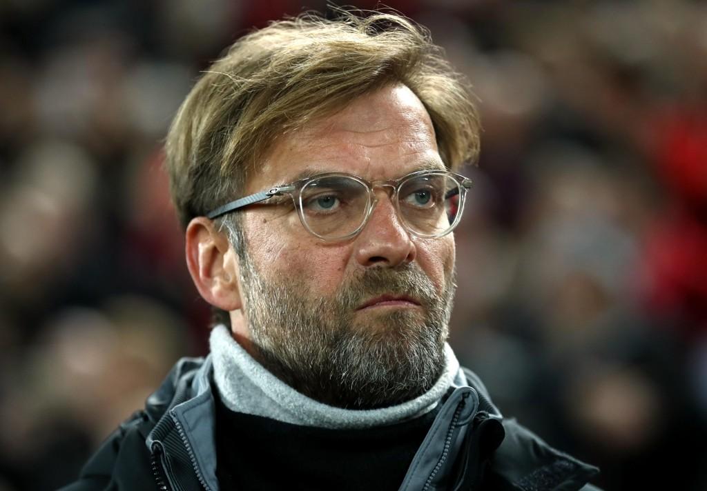 MISFORNØYD: Jurgen Klopp var langt fra fornøyd med 1-1 mot rivalene Everton i søndagens kamp.