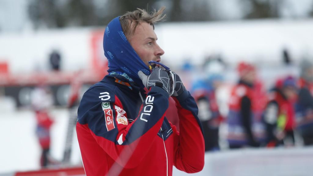 TRENER FOR FULLT IGJEN: Petter Northug jr..