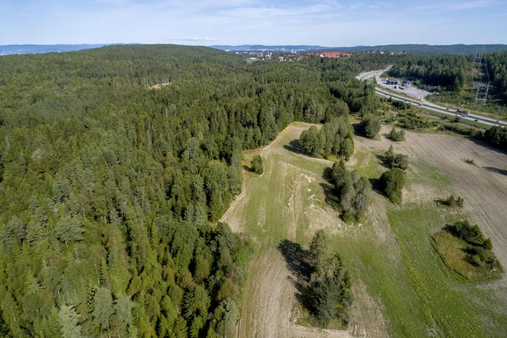 BLIR NORDE FOLLO: Taraldrud i Ski kommune, som nå blir en del av Nordre Follo kommune.