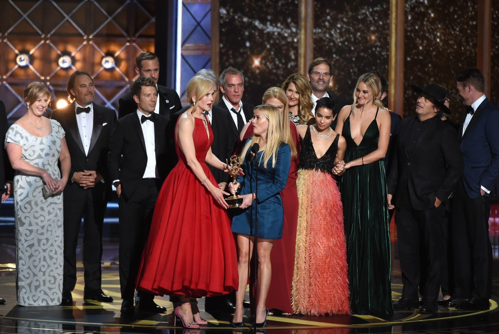 Big Little Lies-gjengen under Emmy-utdelingen i Los Angeles.