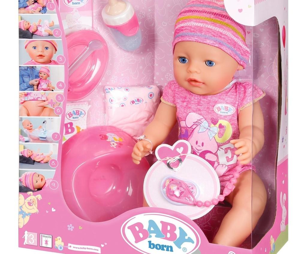 MUGGSOPP: Dansk TV 2 har fått utført tester av baby born-dukken,som viser at den over tid utvikler soppmugg.