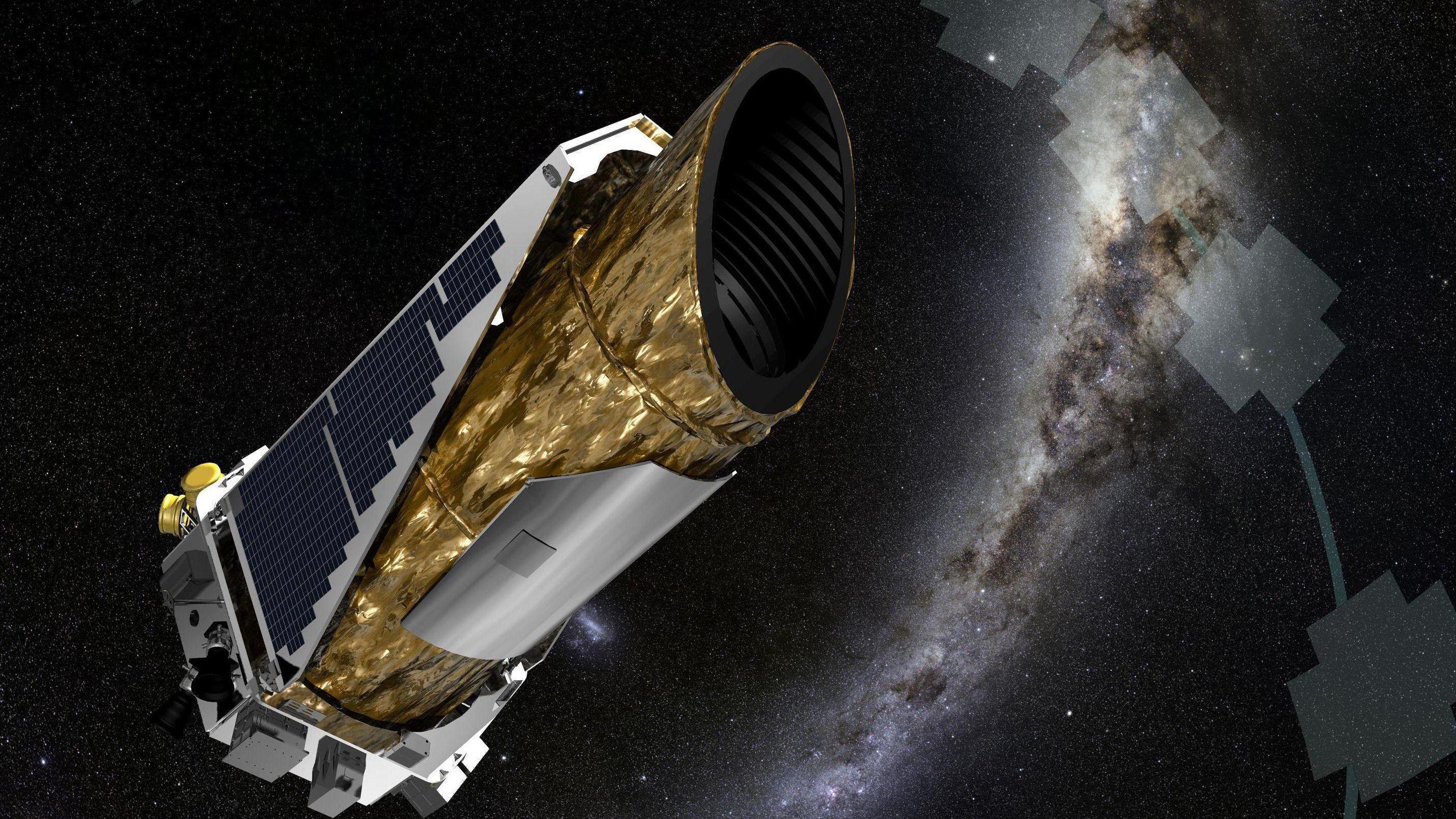 LETER: Kepler-teleskopet til NASA søker etter planeter utenfor vårt solsystem.